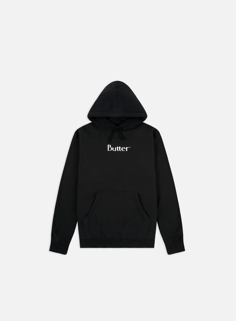 Hooded Sweatshirts Butter Goods Puff Print Classic Hoodie