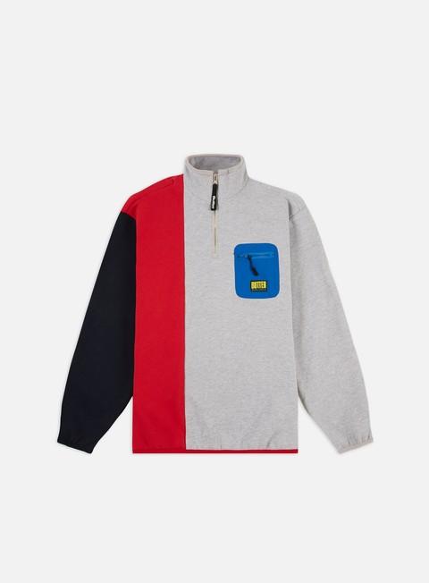 Felpe con Zip Butter Goods Tres 1/4 Zip Sweatshirt