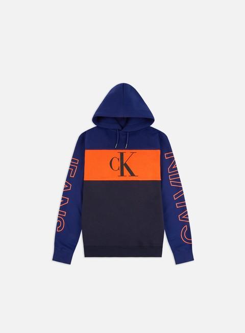 Felpe con Cappuccio Calvin Klein Jeans Blocking Statement Hoodie