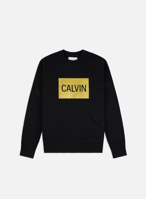 Felpe Girocollo Calvin Klein Jeans Calvin Box Regular Crewneck
