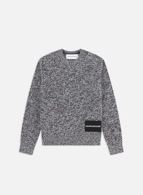 Outlet e Saldi Maglioni e Pile Calvin Klein Jeans Cardigan Stitch Sweater