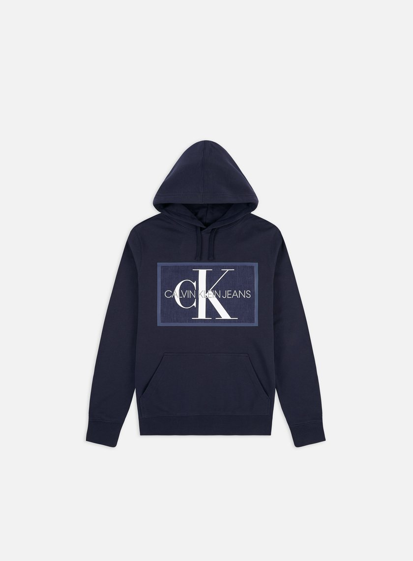 Calvin Klein Jeans Chambray Monogram Hoodie