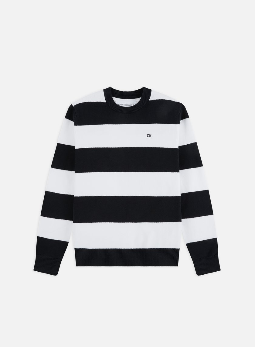 14ba0a583aa CALVIN KLEIN JEANS CK Stripes Cotton Sweater € 89 Sweaters and ...