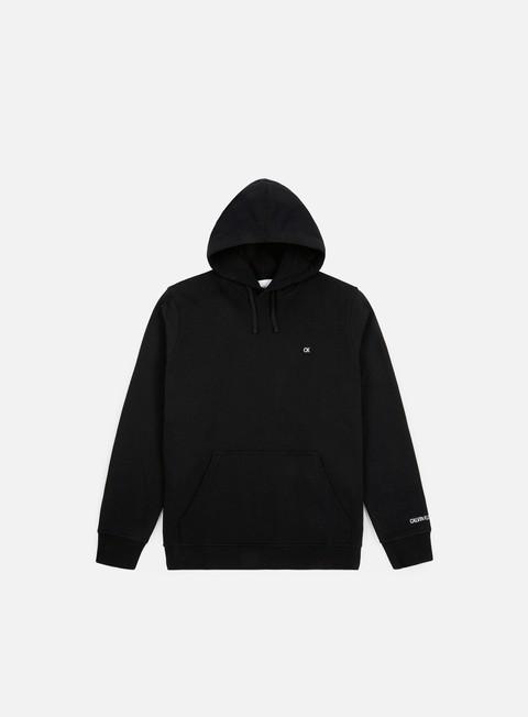 Basic Sweatshirt Calvin Klein Jeans CKJ Chest Embroidery Hoodie