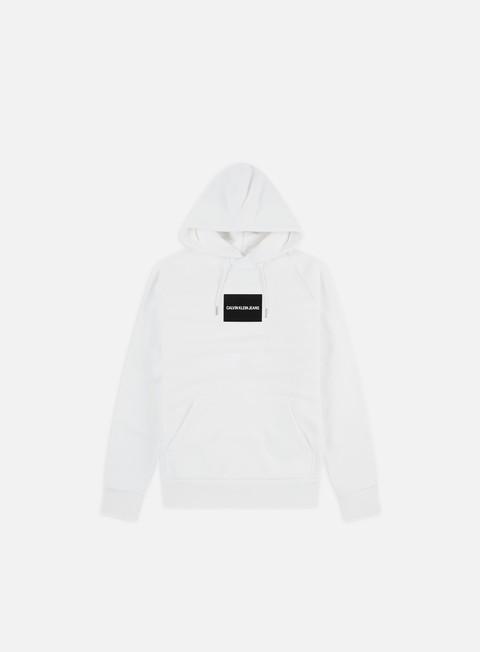 Sale Outlet Logo Sweatshirts Calvin Klein Jeans Colour Block Regular Hoodie