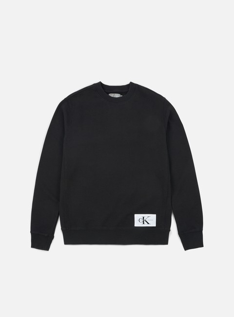 Basic Sweatshirt Calvin Klein Jeans Homeros 1 Crewneck