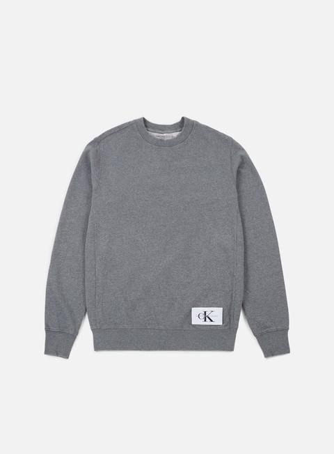 Outlet e Saldi Felpe Girocollo Calvin Klein Jeans Homeros 1 Crewneck