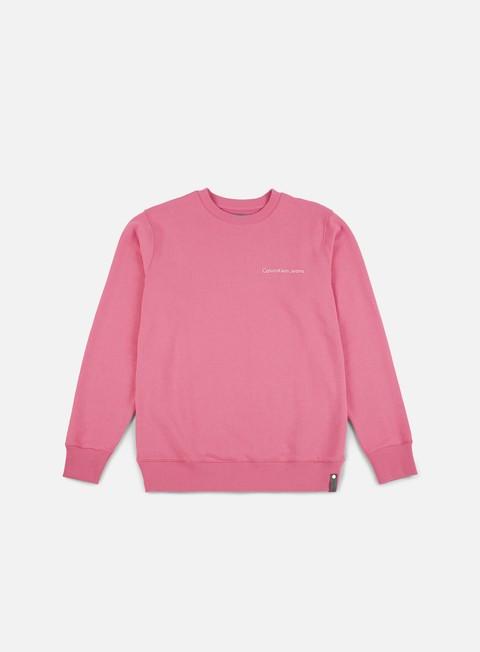 Outlet e Saldi Felpe Girocollo Calvin Klein Jeans Horos 1 Crewneck