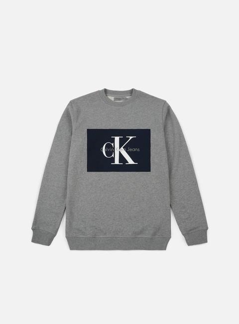 Outlet e Saldi Felpe Girocollo Calvin Klein Jeans Hotoro Crewneck