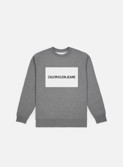 Calvin Klein Jeans Institutional Box Logo Crewneck