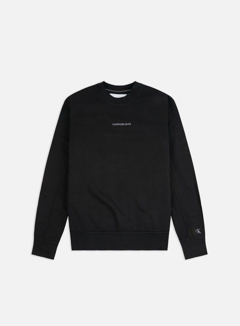 Sale Outlet Logo Sweatshirts Calvin Klein Jeans Institutional Chest Logo Crewneck