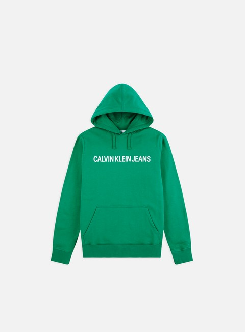 Sale Outlet Logo Sweatshirts Calvin Klein Jeans Institutional Hoodie