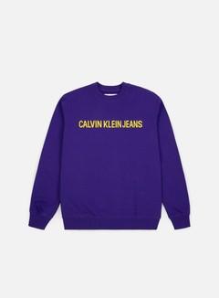 Calvin Klein Jeans Institutional Logo Crewneck