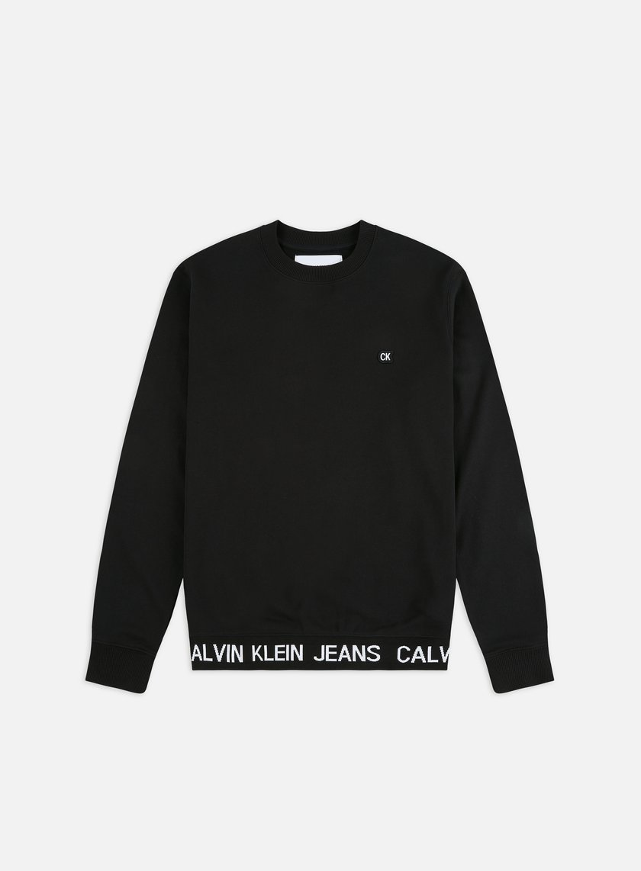 Calvin Klein Jeans Institutional Logo Waistband Crewneck