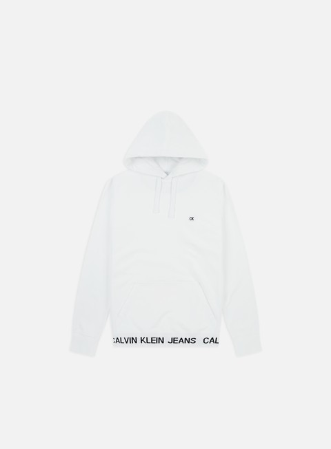 Sale Outlet Hooded Sweatshirts Calvin Klein Jeans Institutional Logo Waistband Hoodie