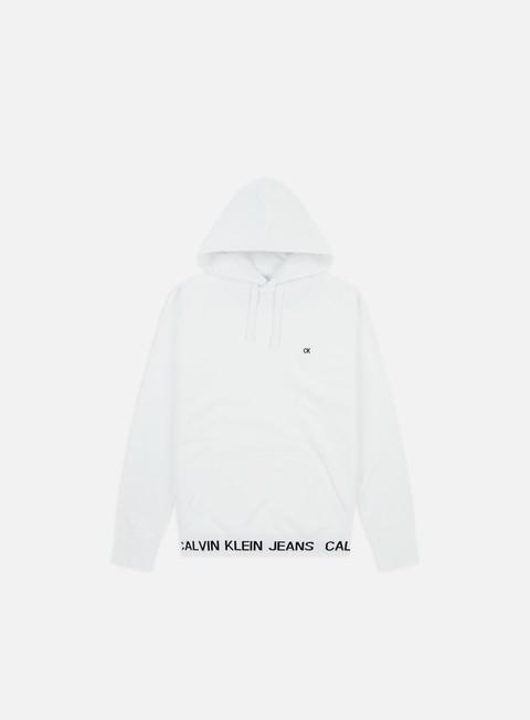 Outlet e Saldi Felpe con Cappuccio Calvin Klein Jeans Institutional Logo Waistband Hoodie