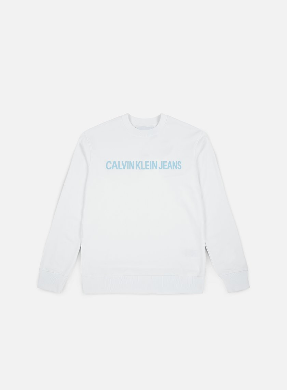 Calvin Klein Jeans Institutionl Logo Crewneck