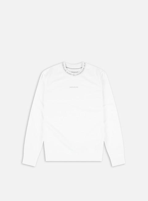 Calvin Klein Jeans Logo Jacquard Crewneck
