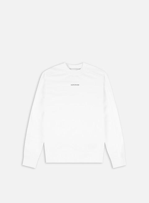 Felpe Girocollo Calvin Klein Jeans Micro Branding Crewneck
