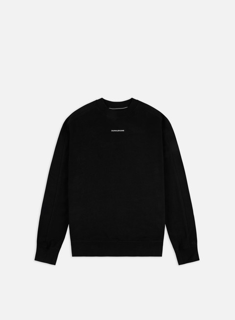 Crewneck Sweatshirts Calvin Klein Jeans Micro Branding Crewneck