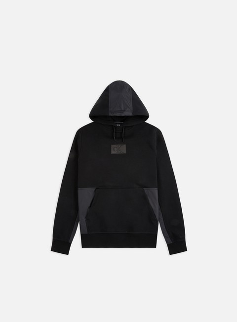 Sale Outlet Hooded Sweatshirts Calvin Klein Jeans Mixed Media Hoodie