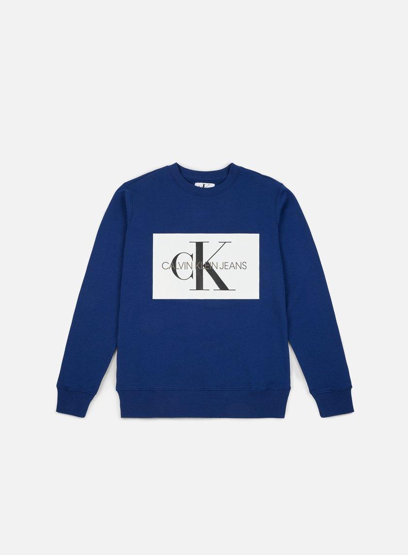 Calvin Klein Jeans Monogram Box Logo Crewneck