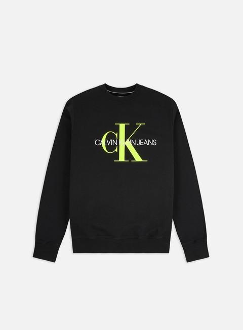 Felpe Girocollo Calvin Klein Jeans Monogram Regular Crewneck