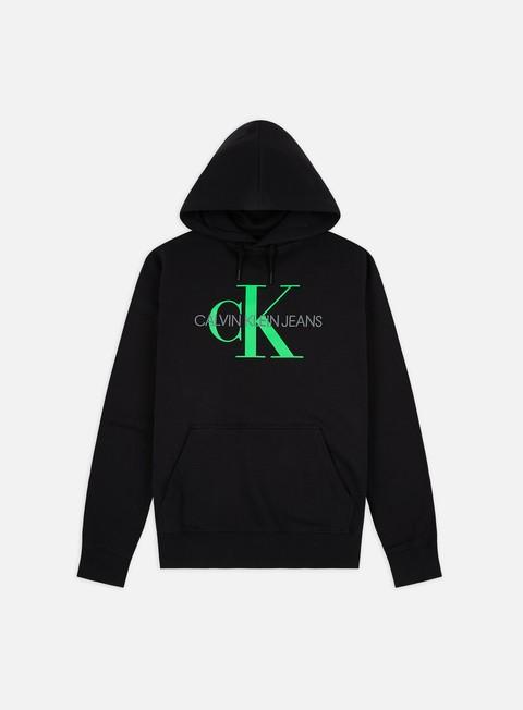 Felpe con Cappuccio Calvin Klein Jeans Monogram Regular Hoodie