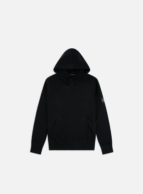 Outlet e Saldi Felpe con Cappuccio Calvin Klein Jeans Monogram Sleeve Badge Hoodie
