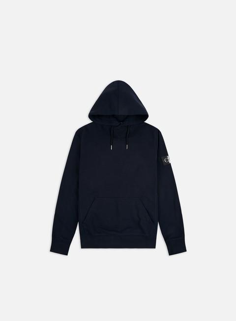 Outlet e Saldi Felpe basic Calvin Klein Jeans Monogram Sleeve Badge Hoodie