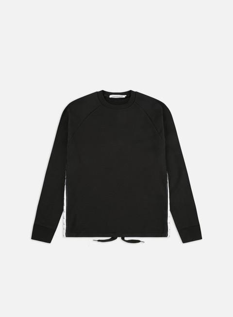 Outlet e Saldi Felpe Girocollo Calvin Klein Jeans Monogram Tape Crewneck