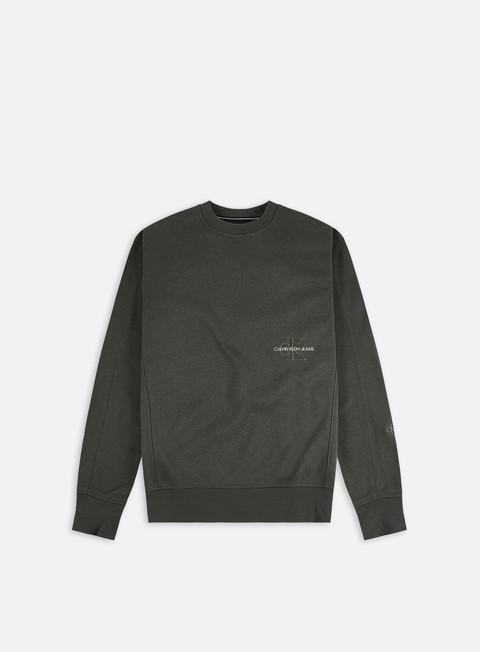 Crewneck Calvin Klein Jeans Off Placed Iconic Crewneck