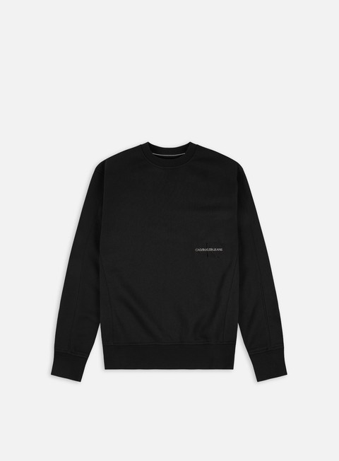 Calvin Klein Jeans Off Placed Iconic Crewneck