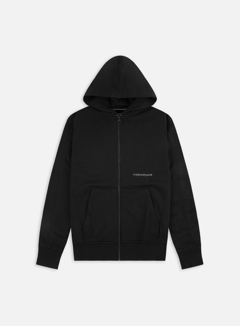 Calvin Klein Jeans Off Placed Iconic Zip Hoodie
