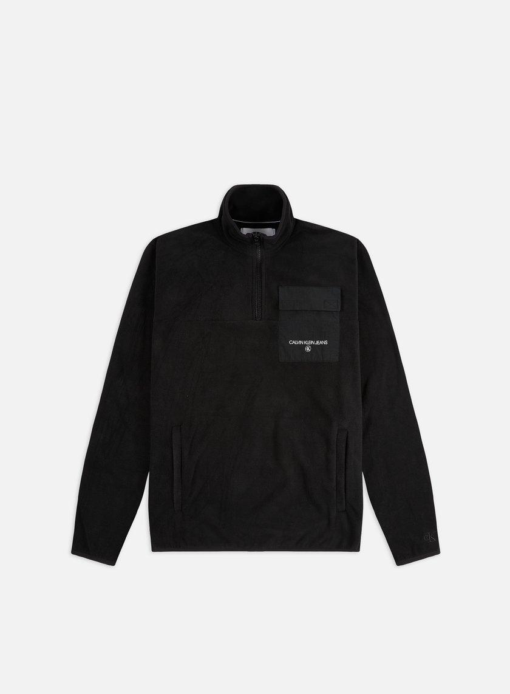 Calvin Klein Jeans Polar Utility Half Zip Fleece