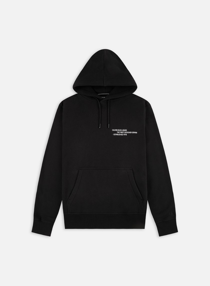 Calvin Klein Jeans Reptile Graphic Hoodie