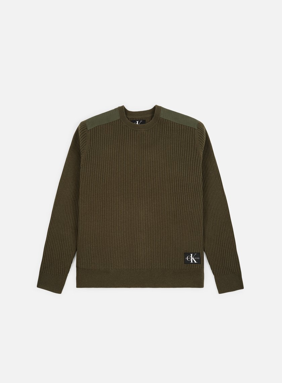 Calvin Klein Jeans Shoulder Patch Sweater