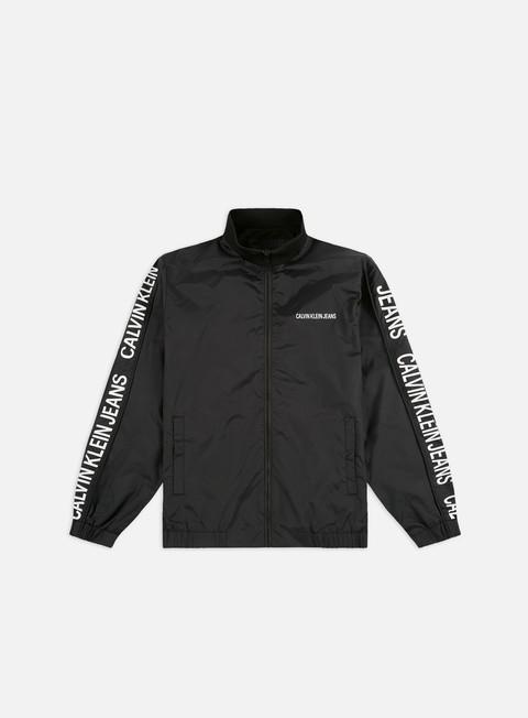 Outlet e Saldi Track Top Calvin Klein Jeans Side Logo Truck Jacket