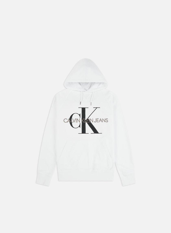 Calvin Klein Jeans Washed Regular Monogram Hoodie
