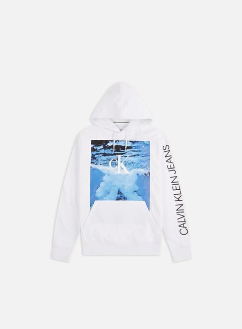 Outlet e Saldi Felpe con Cappuccio Calvin Klein Jeans Wave Photoprint Hoodie