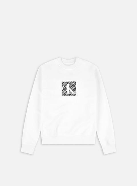 Calvin Klein Jeans WMNS Hologram Logo Crewneck