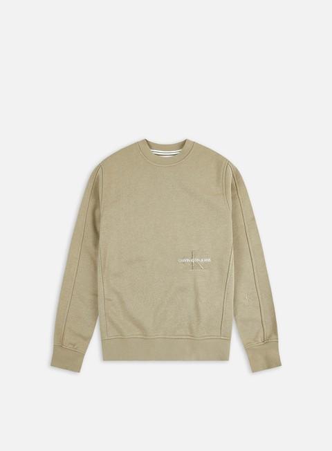 Calvin Klein Jeans WMNS Off Placed Monogram Crewneck