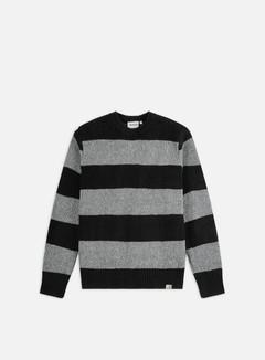 Carhartt - Alvin Sweater, Alvin Stripe/Black/Grey Heater