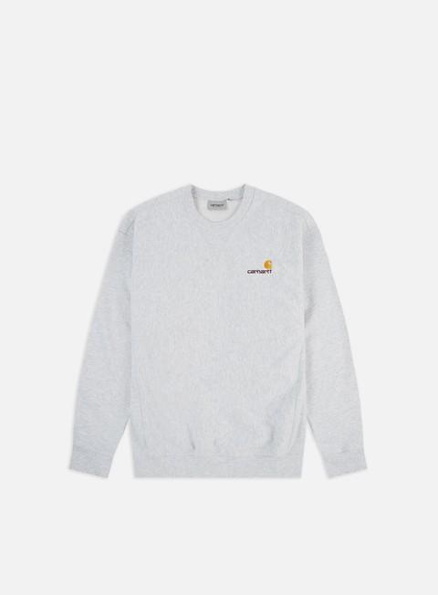 Sale Outlet Crewneck Sweatshirts Carhartt American Script Sweatshirt