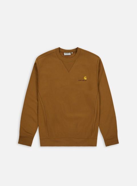 Felpe Girocollo Carhartt American Script Sweatshirt