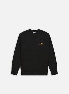 Carhartt - Americana Script Sweatshirt, Black