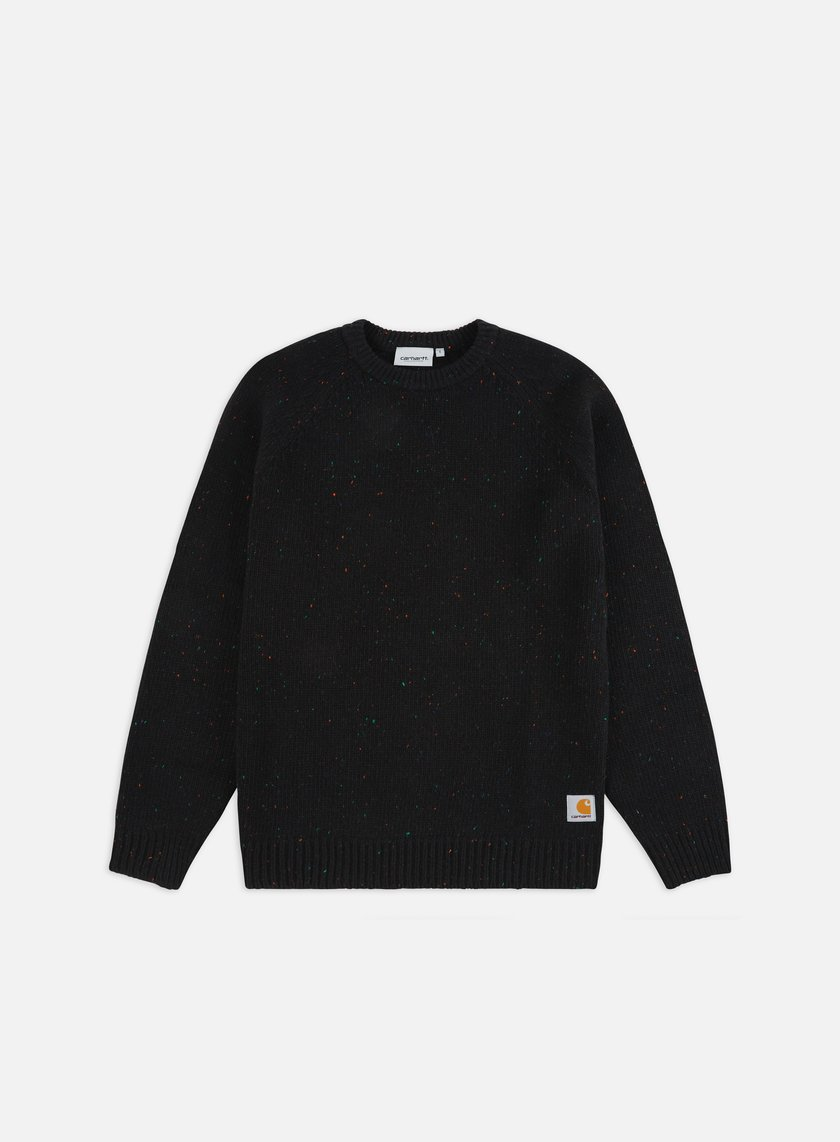 Carhartt - Anglistic Sweater, Black Heather