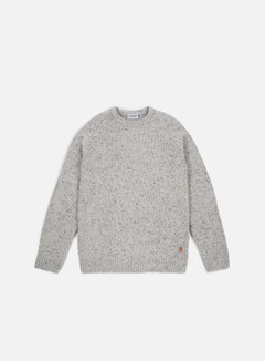 Carhartt - Anglistic Sweater, Grey Heather 1