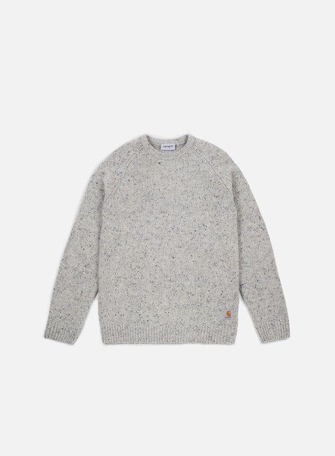 felpe carhartt anglistic sweater grey heather