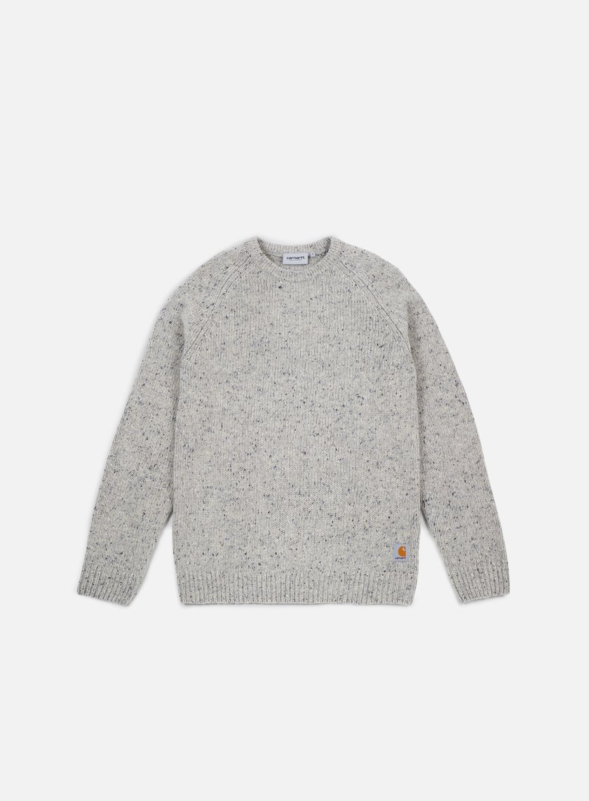 Carhartt - Anglistic Sweater, Grey Heather